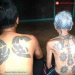tattoo suku dayak