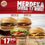 burger king promo serba 17 ribu